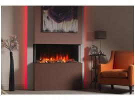 Charlton & Jenrick Polaris 1000 elektrische haard met design meubel