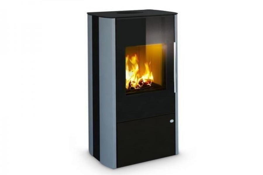 Olsberg Petacas Smart Compact zwart houtkachel (uitverkoop)