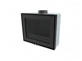 Wanders WAN-2060 F Black Edition houtkachel